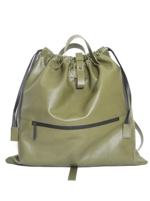 Leather drawstring bag ショルダーバッグ/巾着バッグ 172ABG05