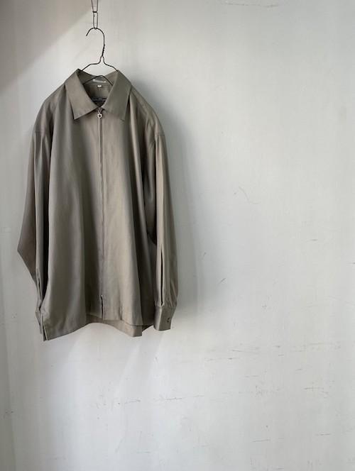 1980~90's Italian Zip shirts(とあるメゾンのジップシャツ)