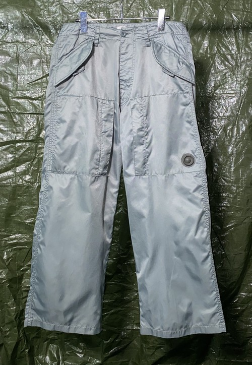 1990s DISEL NYLON FLIGHT TROUSERS