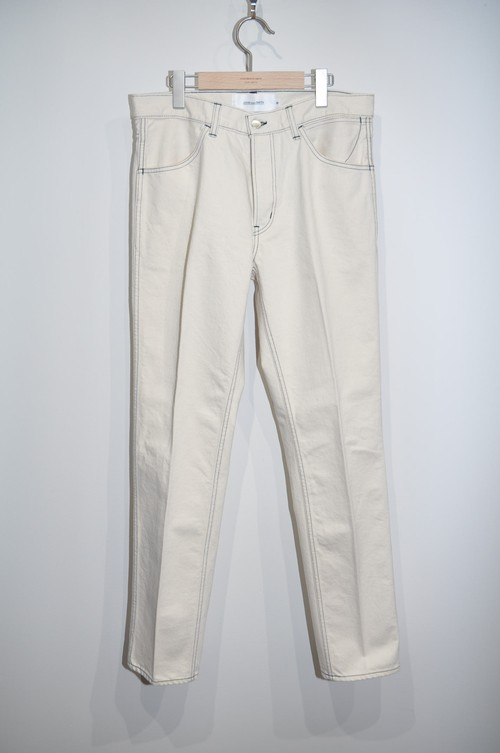 残り1点【JOHN MASON SMITH】5POCKET DENIM PANTS