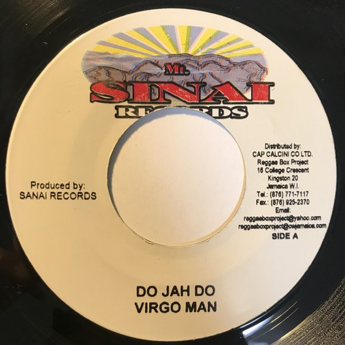 Virgo Man - Do Jah Do【7-1091】