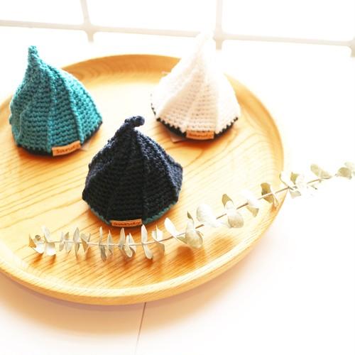 手編み三角鍋つかみ(SUMMERバージョン)