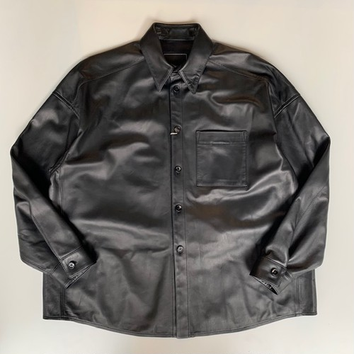 MARNI SHEEP LEATHER SHIRT