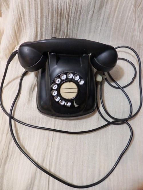 黒電話 4号A 自動式電話機 NEC 電電公社 アンティーク 希少品