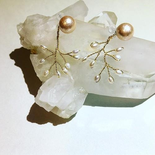 『WHITE』earring