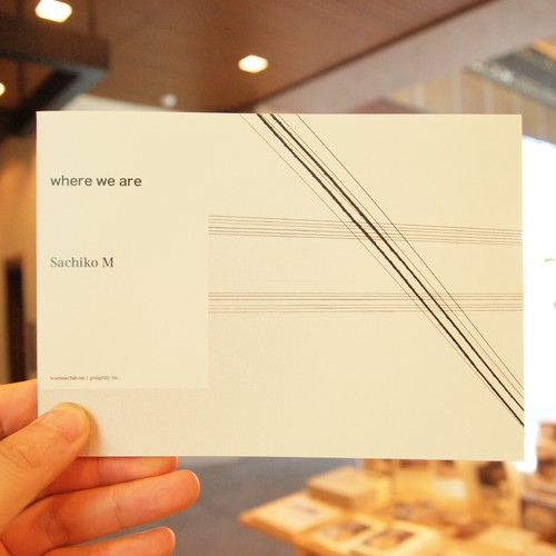 "Sachiko M Post Card Book ""where we are"""