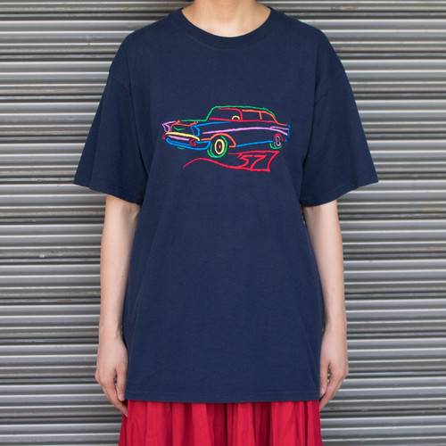 """""""Car"""" Embroidered Tee"""