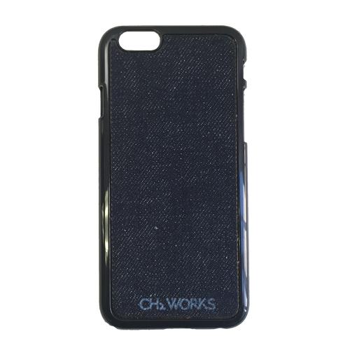 iPhone6 6s 本格デニムケース [プレーン] 岡山県児島産の13オンスデニム使用 肌触りが違う アイフォン 4.7インチ denim case ジーンズ素材【CH2 WORKS】