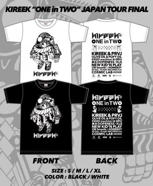 KIREEK - ONE in TWO TOUR Tee