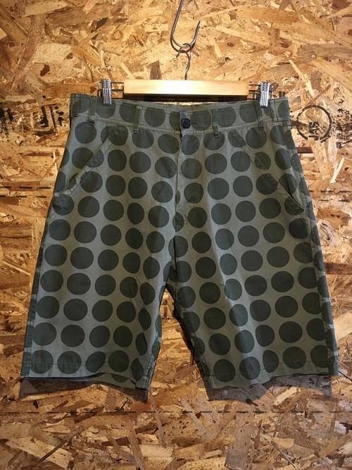 COMME des GARCONS polka dot shorts