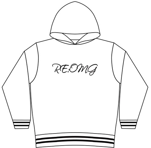 RE:OMG ORIGINAL HOODY- WHITE-