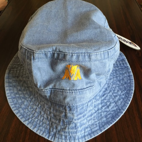 "McMamWell x ADAM'S HAT Bucket Hat ""BLUE"""