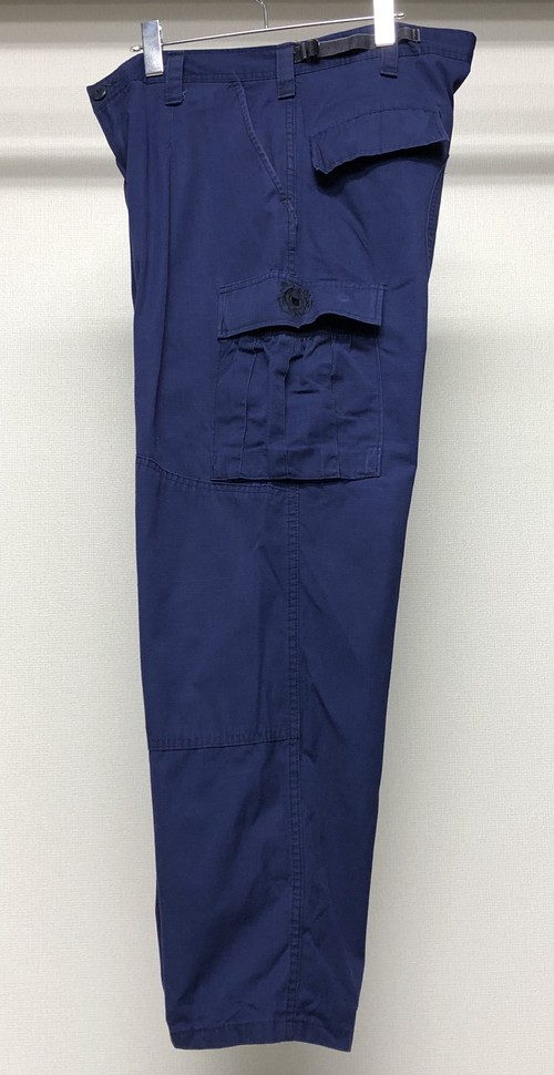 1980s GATHERED POCKET CARGO PANTS