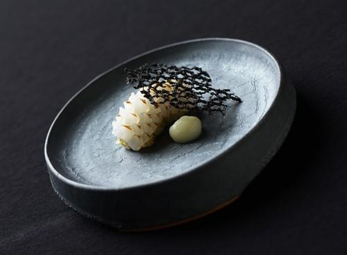 TSUKI プレート 150(瓦食器・丸皿)