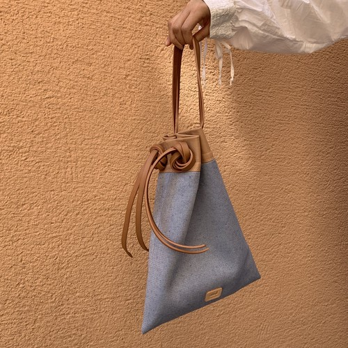 【NEW】Double Handle FD Bag《blue canvas》