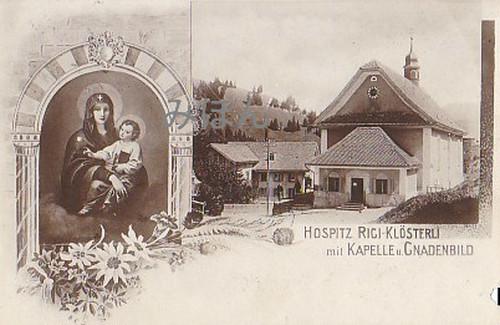 古絵葉書エンタイア「教会」(1900年代初頭)