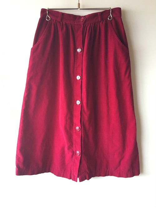 OLD Corduroy Skirt