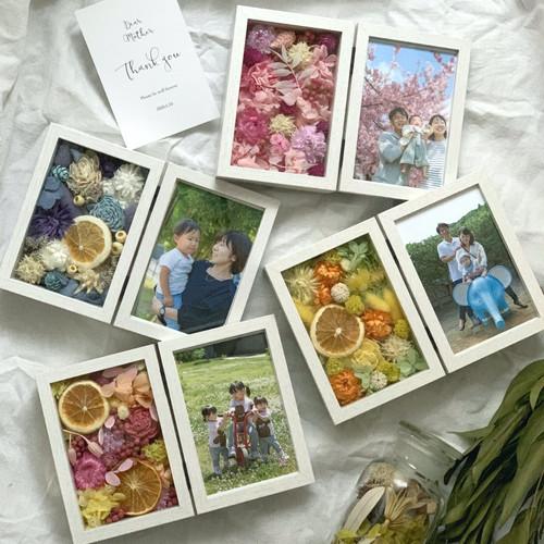 2020 mother's day Gift 「ドライフラワーフォトフレーム」 vol1