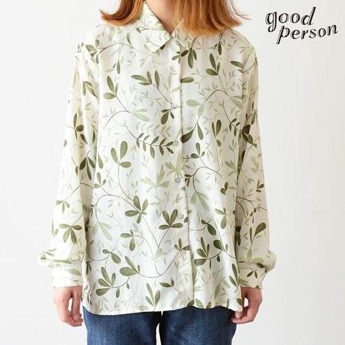 botanical polyester shirt