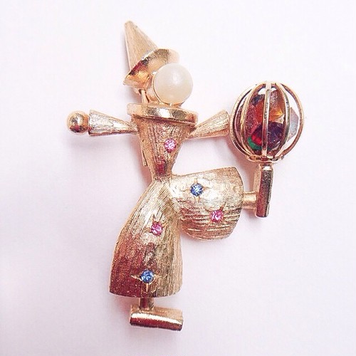 clown brooch[b-85]