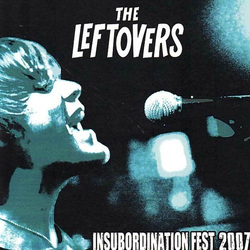 the leftovers / insubordination fest 2007 cd USED