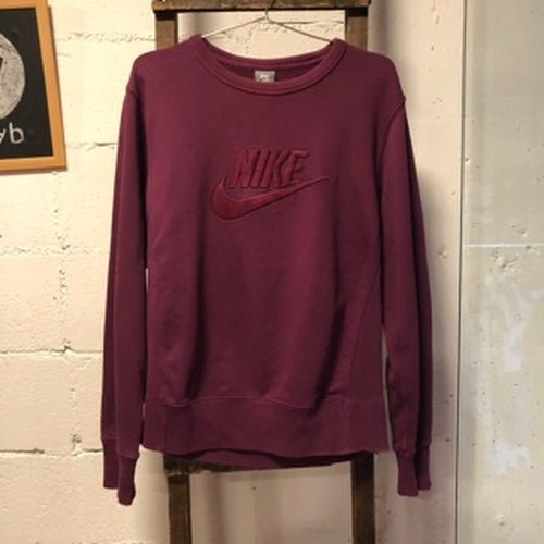 NIKE wine red sweatshirt
