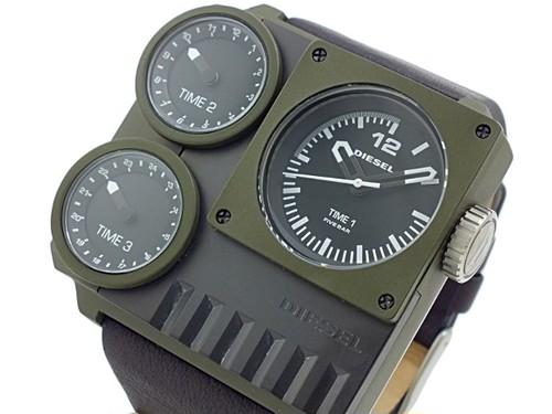 ディーゼル DIESEL トリプルタイム アナデジ 腕時計 DZ7248