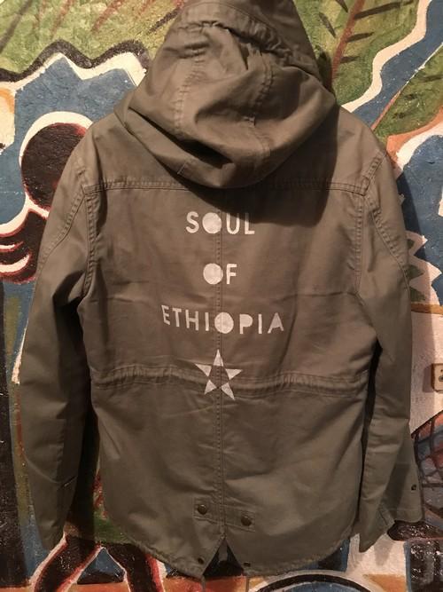 SOUL OF ETHIOPIA フード付ジャケット レディースM