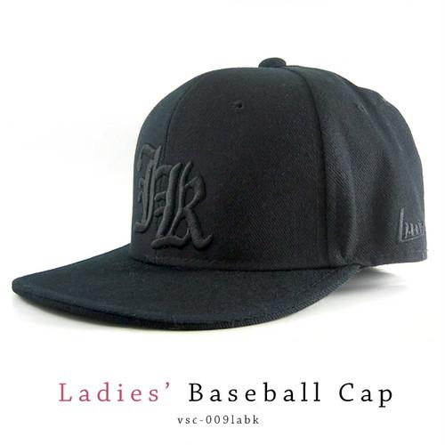 ベースボールキャップ( キャップ ) vsc-009labk 帽子 ブラック×ブラック [ レディース 女性向き ]