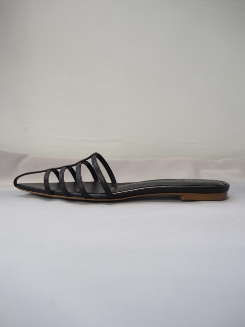 【HEWN】POINTED STRAP MULES