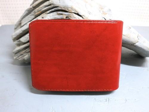 薄型二つ折り財布 ローズ