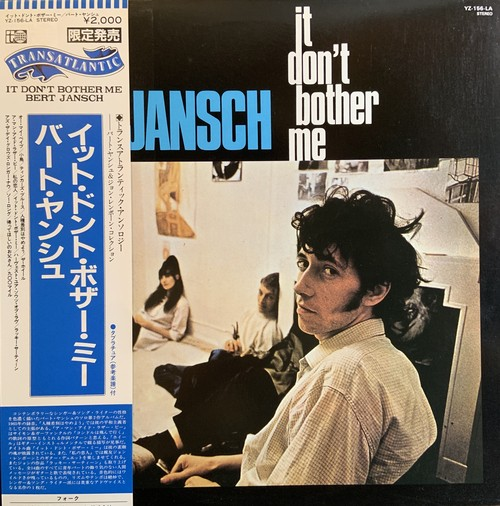 【LP】BERT JANSCH/It Don't Bother me