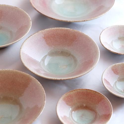 桜色五寸鉢
