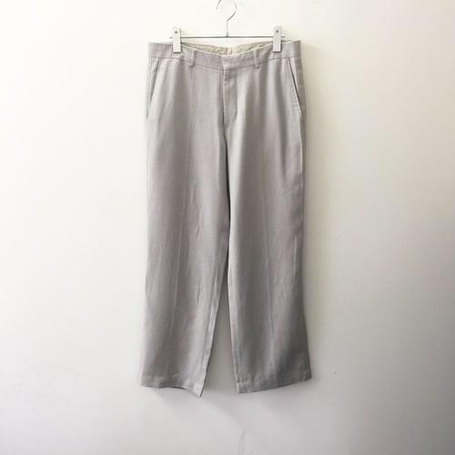 Matinique スラックス ワイドストレート グレー系 ポルトガル製 メンズ 古着