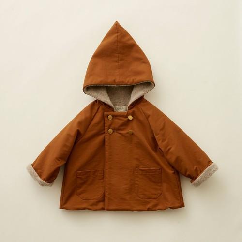 eLfinFolk(エルフィンフォルク)/ elf coat / brown / 90,100cm