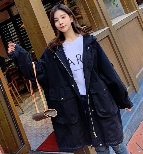 ボーイッシュ コート モッズコート 春コート カジュアル ミディアム丈 大きいサイズ レディース 春夏 アウター