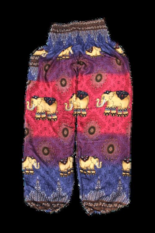エレファントハーレムパンツ ピンク Elephant harem Pants Pink