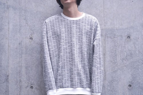 DESIGNED SWEATER/WHITE
