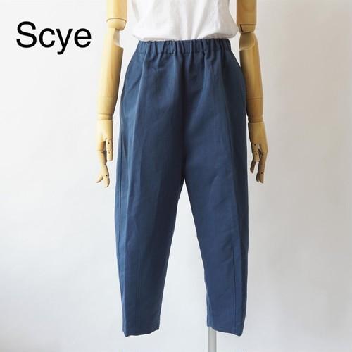 SCYE/サイ・Nylon and Linen Blend Twill Cropped Pants