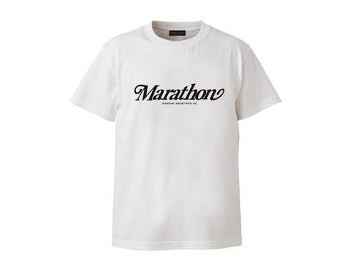 T-SHIRT M319116-WHITE / Tシャツ ホワイト WHITE / MARATHON JACKSON マラソン ジャクソン