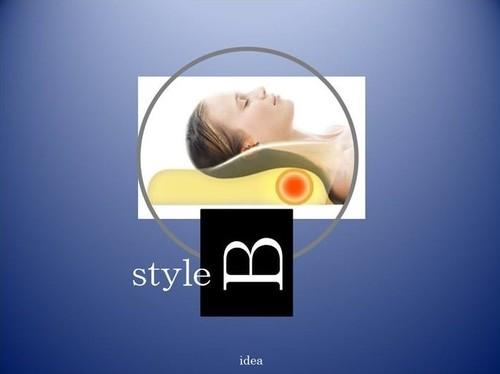 ストレートネック・肩こり・首こりの予防と改善に!!  idea Style B Pillow  (イデアスタイルBピロー)