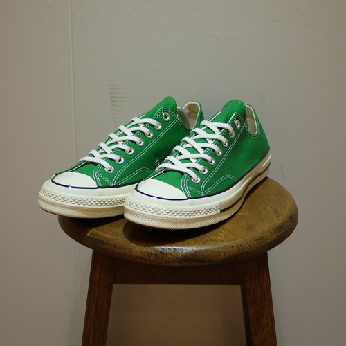 "CONVERSE Chuck Taylor 1970S (CT 70 LOW) Size5,9 ""Green,Dead Stock"""