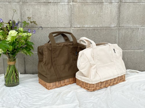willow canvas lunch bag(M)