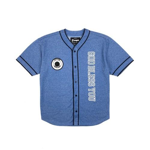 GBY BASEBALL SHIRT(JAPAN MADE)/ LIGHT BLUE