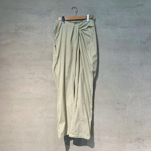 【COSMIC WONDER】Beautiful Organic cotton wrapped pants/12CW11089-2
