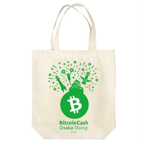 【限定】BitcoinCashトートバッグ OsakaMeetup COFA(A5-OSA001)