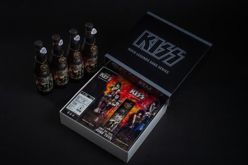 KISS「限定ボトル」4本セット オリジナルBOX付き