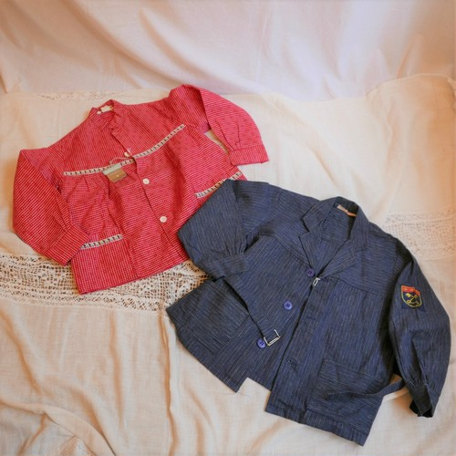 French 60's Kids Jacket 2pairs