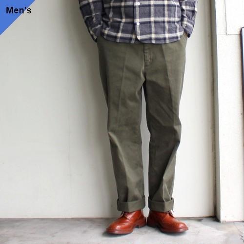 【再入荷】ENDS and MEANS  ワークチノ Work Chino EM-ST-P01 Olive