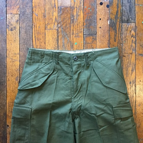 70's US Army M-65 Field Pants / Deadstock